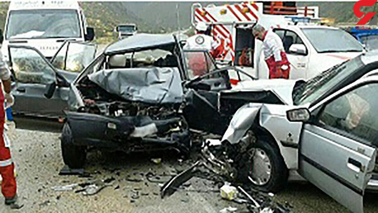 افزایش سوانح رانندگی در مسیرهای همدان