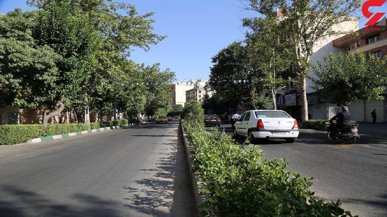 خیابان مجاهدین اسلام بهسازی شد