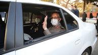 ماشین رئیس دفتر نظامی رهبری+عکس