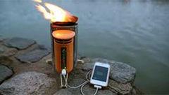 اجاق گازی که موبایل را شارژ می کند + عکس