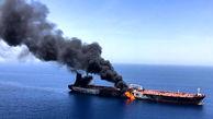 حرکت یکی از نفتکشهای آسیب دیده به طرف اسکله