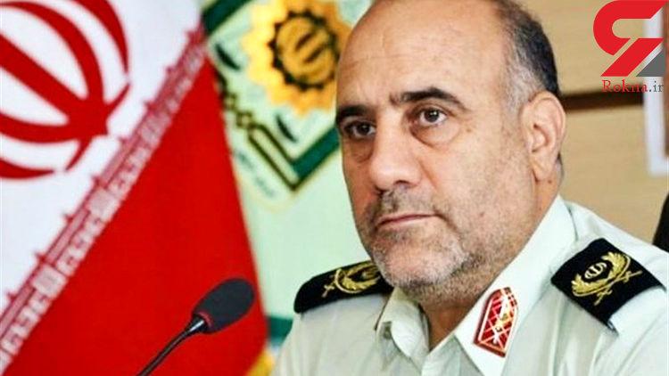 پشت پرده کتک خوردن پلیس از جوان تهرانی / مهاجم مزاحم یک زن بود / سردار رحیمی تشریح کرد + فیلم