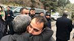 عکس امروز فرزند سردار شهید سلیمانی در آغوش احمدینژاد
