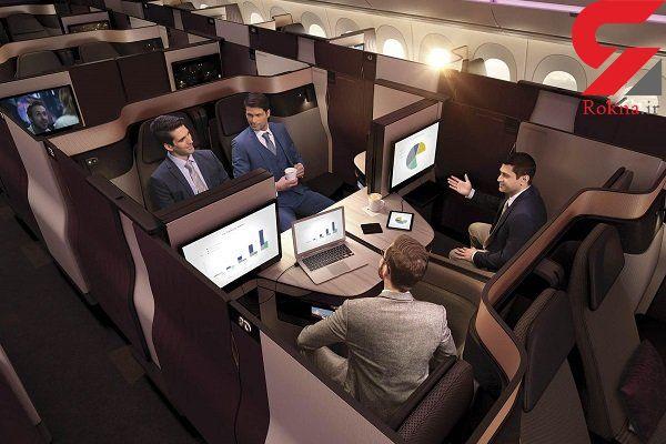 هواپیماهایی با دکوراسیون لوکس برای جلب رضایت مشتریان