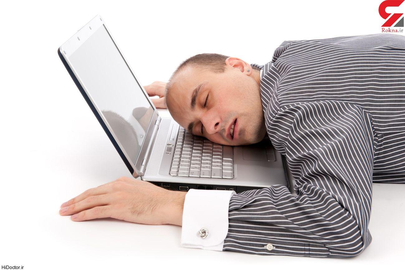 نوعی از خستگی، یکی از علائم ابتلای خفیف به کرونا