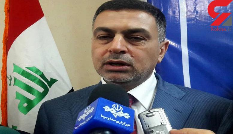 آقای استاندار دستگیر شد / او عامل اغتشاشات بصره بود + فیلم و عکس