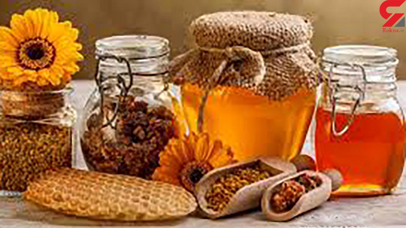 درمان های عسلی + اینفوگرافی