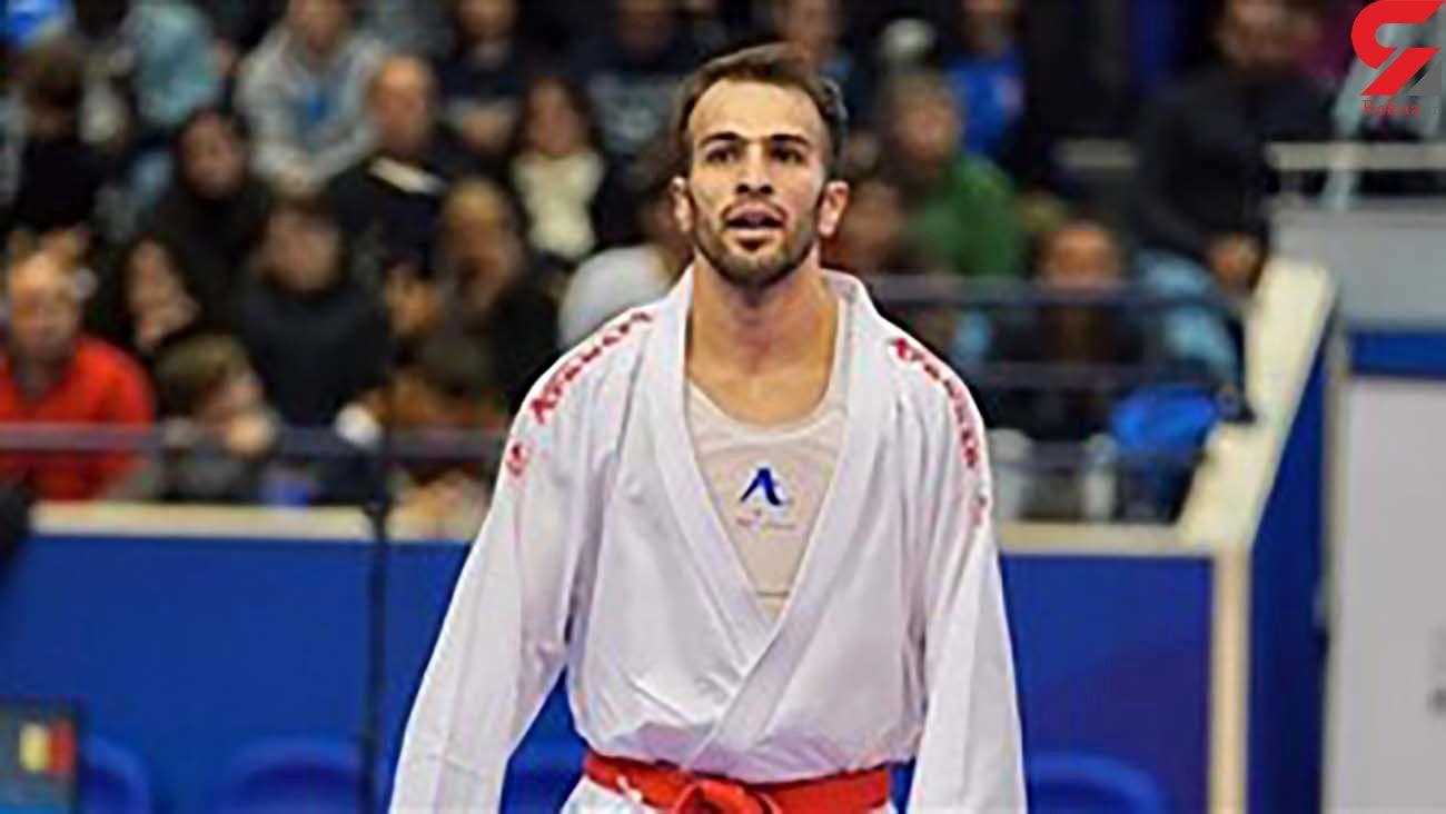 بهمن عسگری ، کاراته کای ایرانی کرونا گرفت