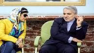 ملاقات معاون حسن روحانی با مریم حیدرزاده !+عکس