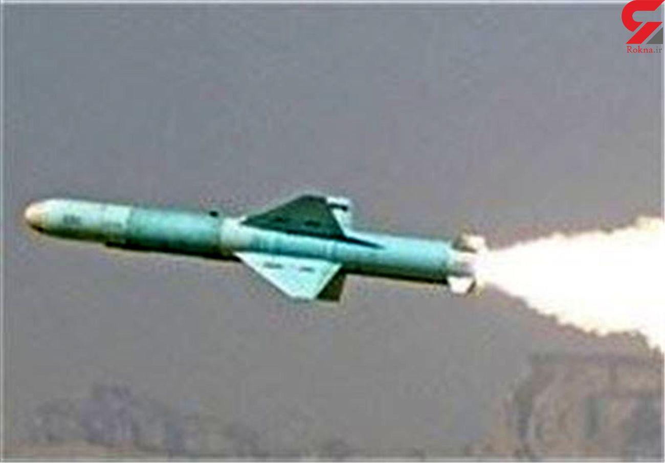 شلیک موشک سطح به سطح «نصر» در رزمایش ذوالفقار ۹۹