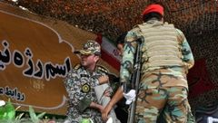 شهادتین  آیت الله حیدری در صحنه حمله تروریستی اهواز + تصویر