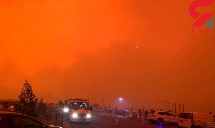 آتش سوزی استرالیا چند صد میلیون تن دی اکسید کربن وارد جو کرد