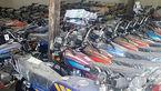 توقیف 5 دستگاه موتورسیکلت در دره شهر