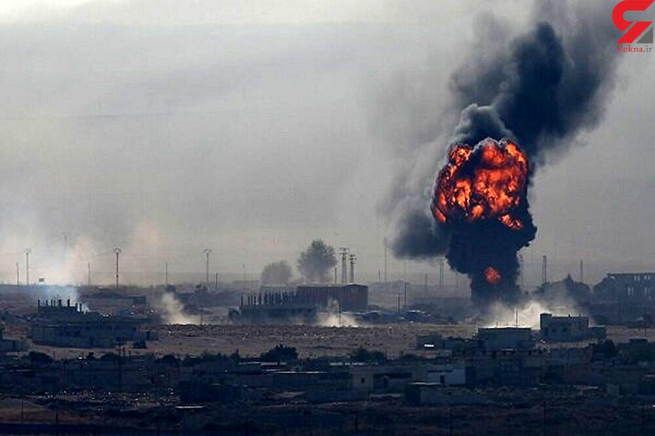 انفجار انبارتسلیحات نیروهای دموکراتیک سوریه در الحسکه
