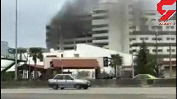آتشسوزی در کارخانه فولاد رشت