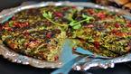 کوکوی برگ کرفس غذایی فوری و متفاوت+دستور تهیه