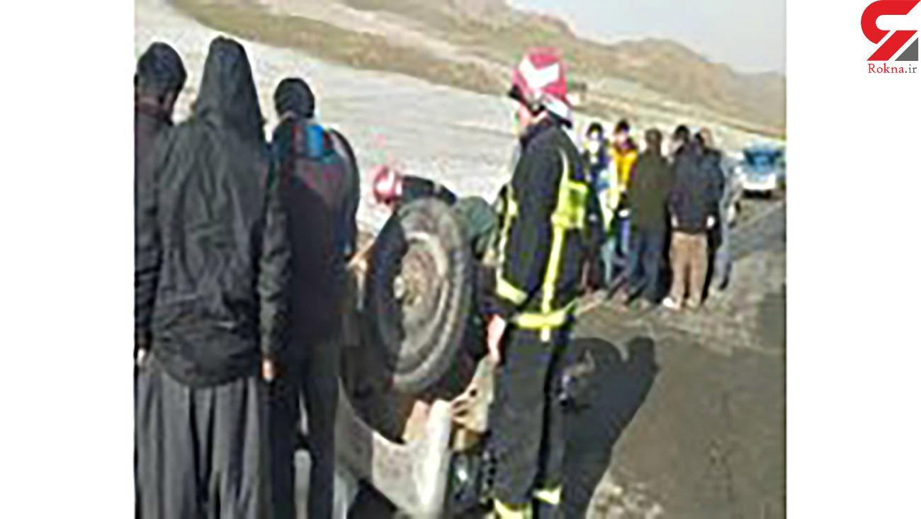 حادثه برای خودروی لندرور در محور مهاباد_بوکان