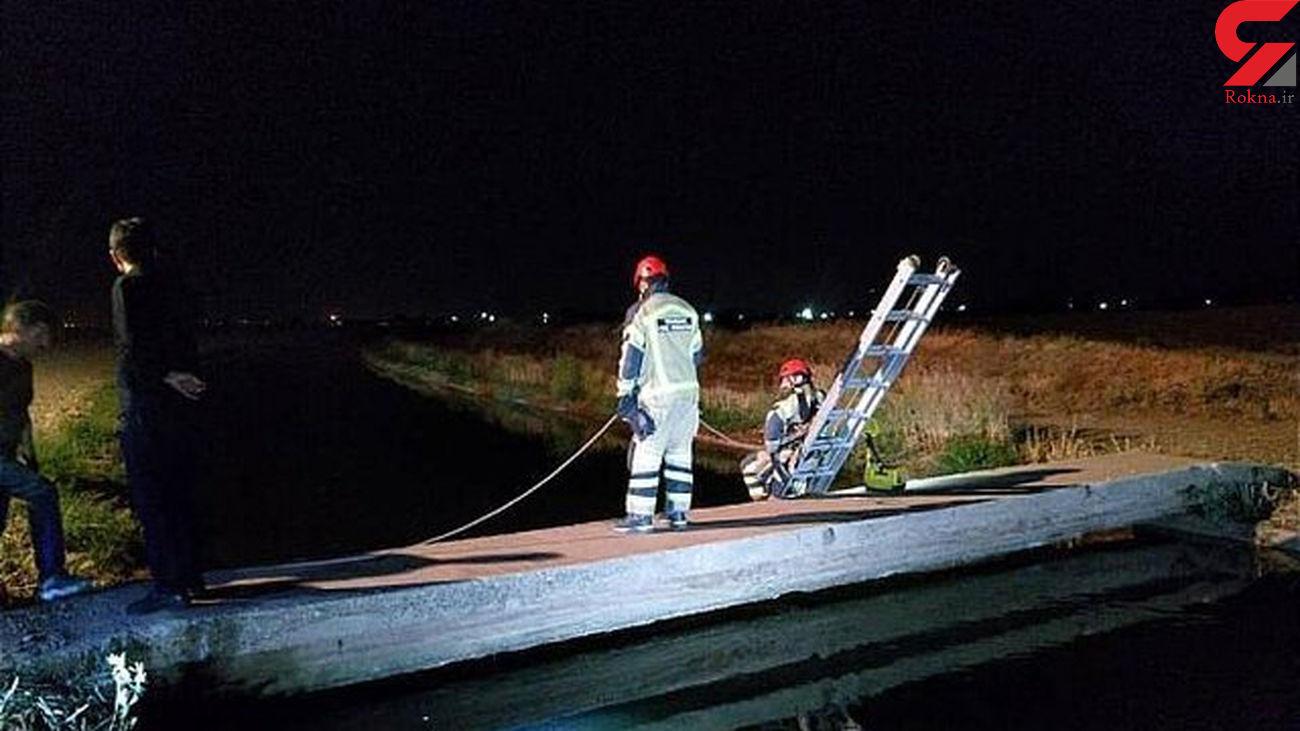 جسد کودک 13 ساله در کانال آب خاورشهر پیدا شد