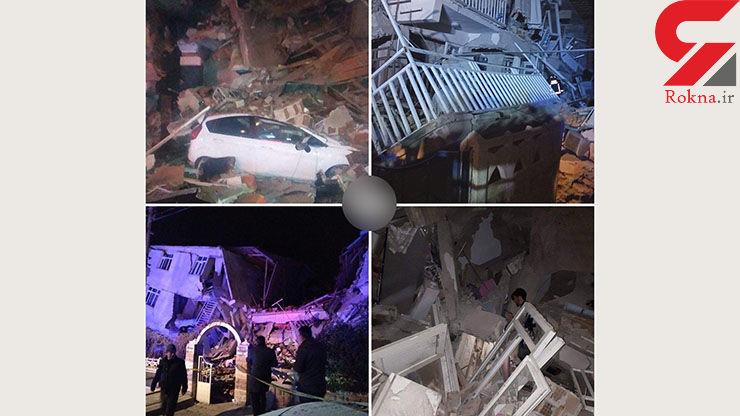 14+ / 3 فیلم وحشتناک از زلزله ترکیه / شهرهای مرزی ایران هم لرزید + عکس