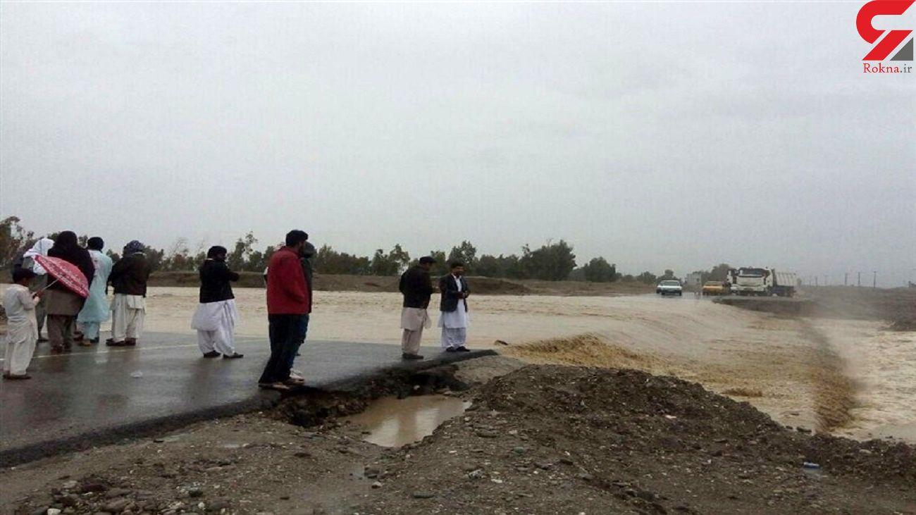 خسارت ۱۴۳ میلیارد تومانی طوفان شاهین به جاده های سیستان و بلوچستان