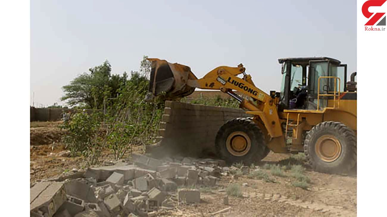 رفع تصرف 6 هکتار از مزارع کشاورزی و باغات شهرستان ایلام