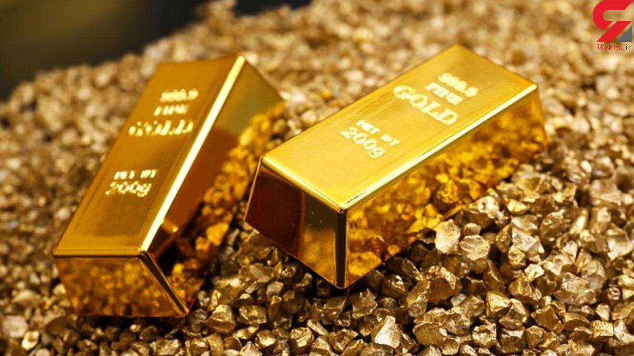 قیمت جهانی طلا امروز چهارشنبه 25 فروردین