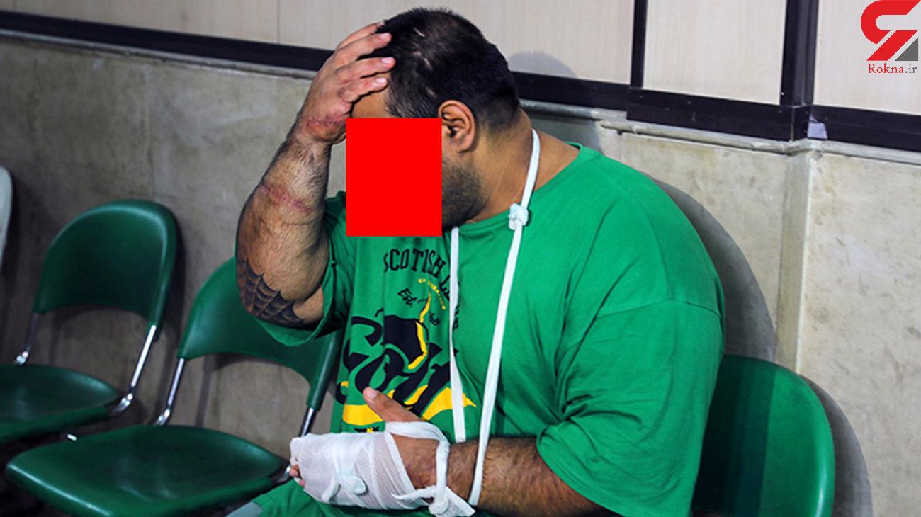 فیلم لحظه شلیک غول تهران به مرد قصاب ! / محاکمه شد + فیلم گفتگو با قاتل بدنساز