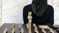 عکس / فروش مجسمه شاهدخت ایرانی / 200 میلیون تومان به باد رفت !