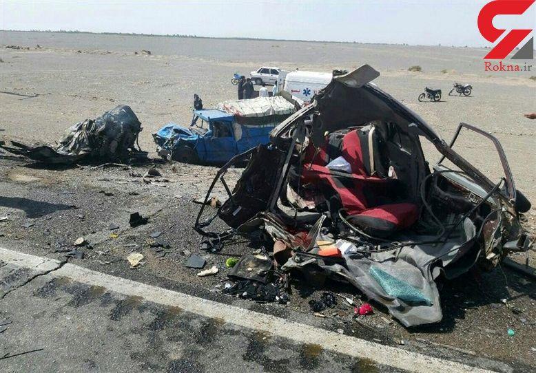 فاجعه مرگبار با 12 قربانی در همدان+ عکس تکاندهنده