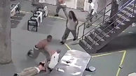 جنگ تن به تن دو گروه از زندانیان خطرناک یک زندان فوق امنیتی+فیلم و عکس