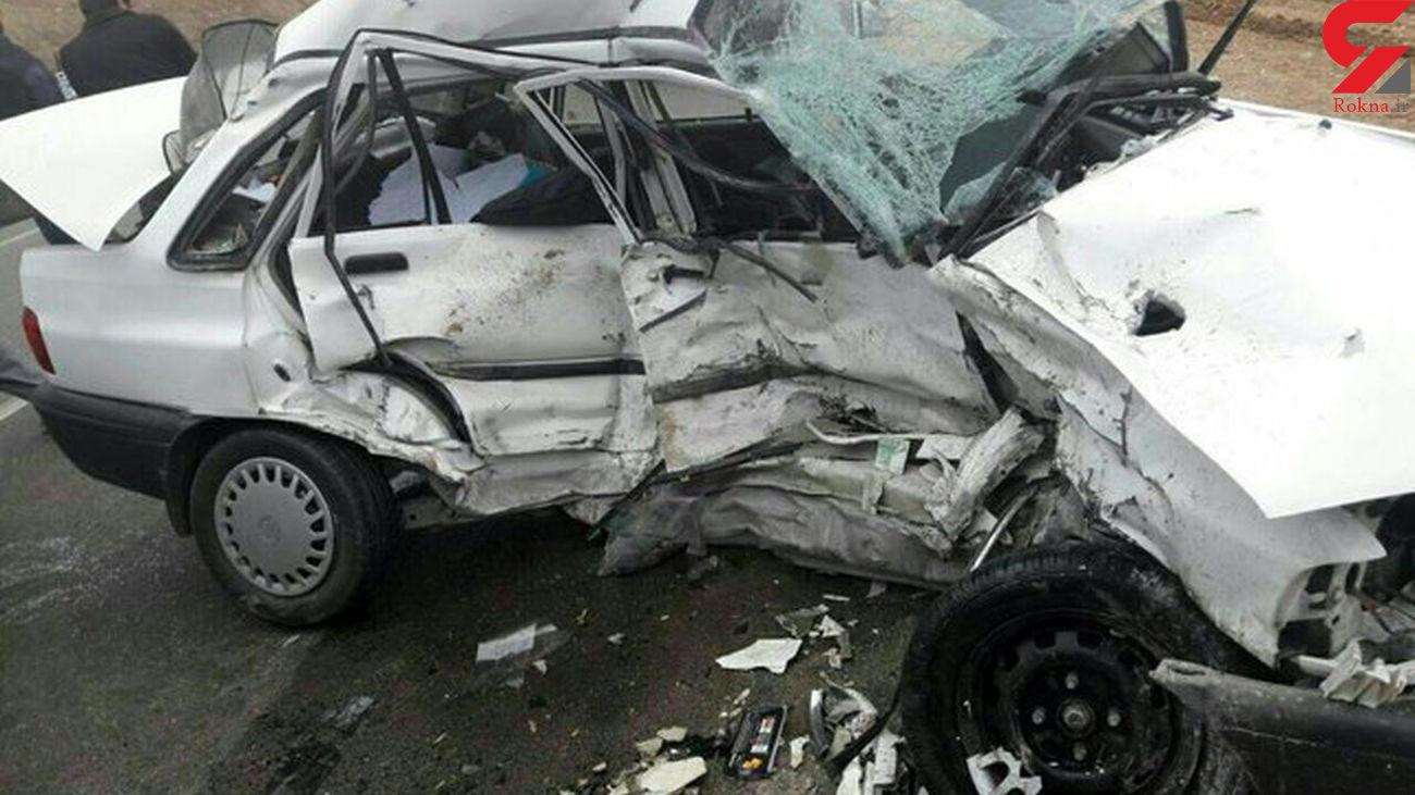 3 کشته همزمان در مهاباد/ تصادف مرگبار بود