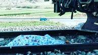 مرگ مشکوک یک مرد در راه آهن رشت + عکس جنازه