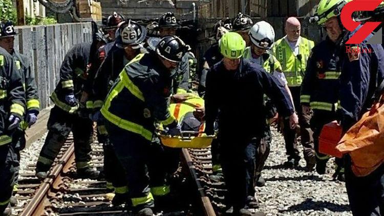 حادثه در خط متروی بوستون ۱۰ مصدوم بهجا گذاشت