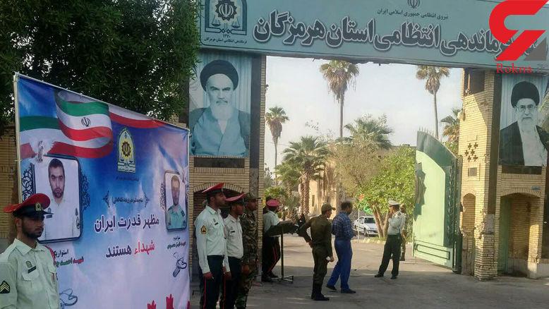 اولین فیلم از شهادت  2 مامور پلیس میناب / شهیدی که زنده شد! + عکس