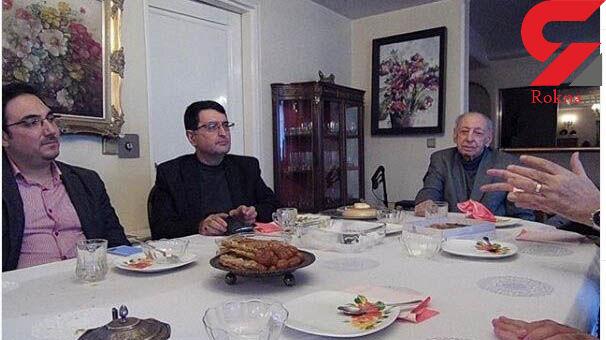 دیپلمات ایرانی معروف خلیج فارس درگذشت + عکس