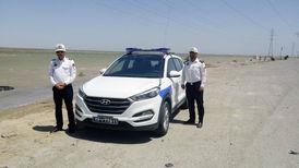 توصیه پلیس راهور آبادان به رانندگان در جاده سیلابی ماهشهر +عکس و فیلم