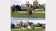 صحنه ای عجیب در میدان بلال بابلسر / مردم شوکه شدند + عکس