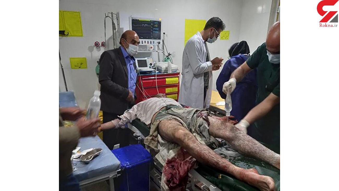 فیلم / حمله پلنگ به مرد 36 ساله در دنا + عکس ها
