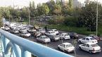 ترافیک شهر تهران در هجدهم اردیبهشت ماه