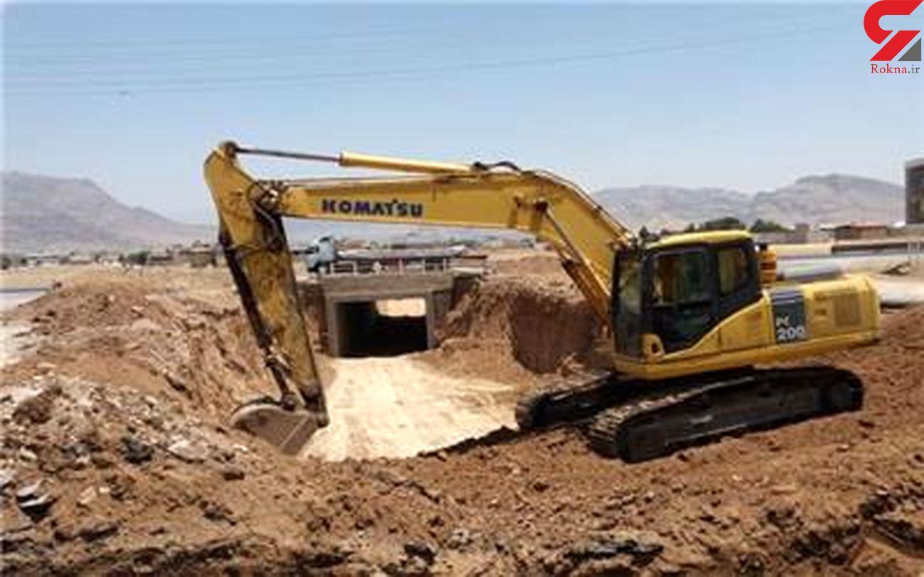 پروژه تقاطع غیرهمسطح کمربندی جنوبی خرمآباد فعال شد