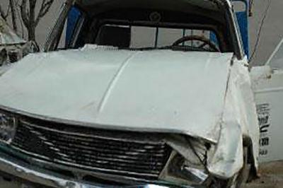 واژگونی پیکان وانت در آذربایجان غربی حادثه آفرید