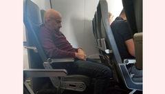 کثافتکاری مرد مسافر داخل هواپیما مسافربری + عکس