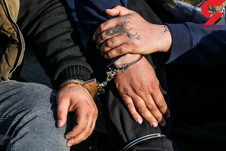 دستگیری 5 تن از عاملان درگیری مسلحانه در آبادان