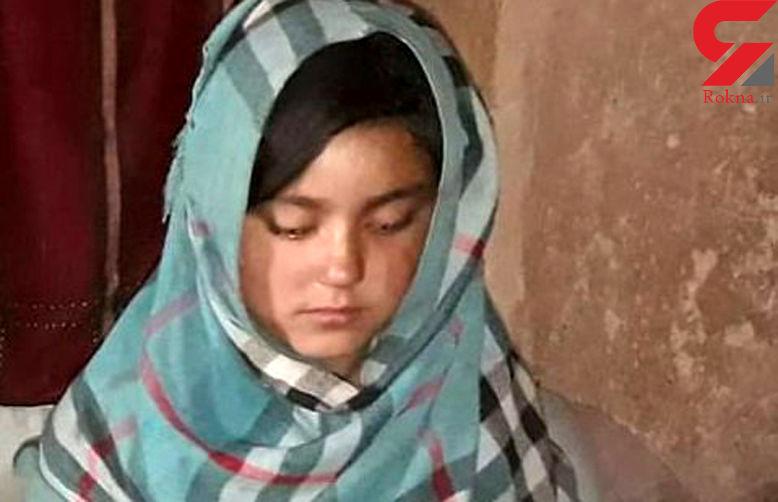 آرزو 10 سال سن دارد / پدر افغانیش او را فروخت + عکس دختر بیچاره