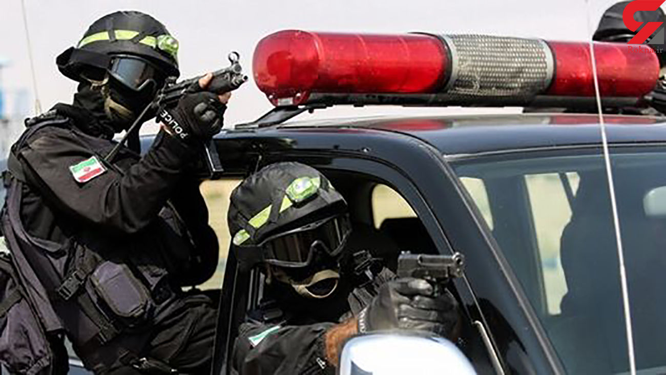 توقیف یک تن مواد مخدر در درگیری مسلحانه پلیس سراوان
