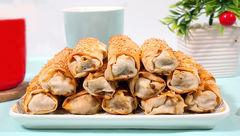 پیراشکی قارچ و گوشت خانگی+دستور تهیه