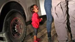 عکس دلخراش دختر بچه دو ساله گریان جهانی شد +تصاویر