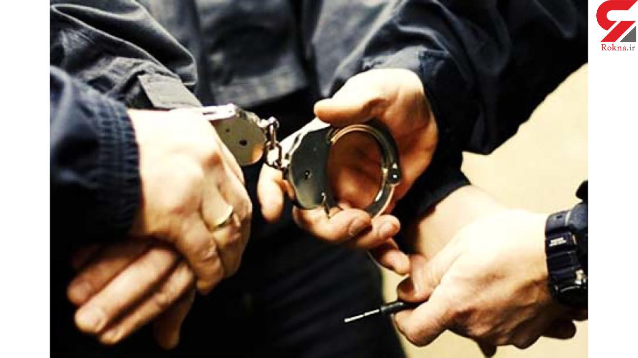 دستگیری اعضای باند سارقان میلیاردی در کرج