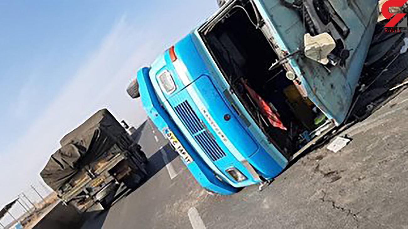 فاجعه در کردستان / 16 کشته در حادثه واژگونی مینی بوس