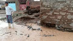 باران و سیل به حدود یکهزار واحد مسکونی خراسان شمالی خسارت زد